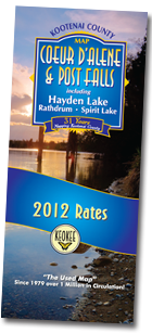 Kootenai County Map 2012 Rates - Coeur d'Alene